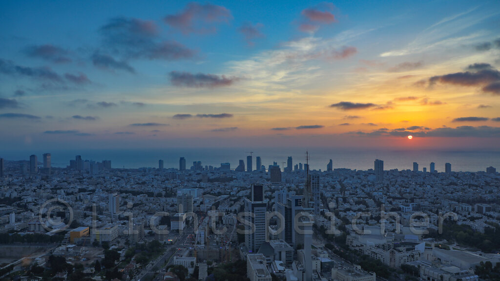 Tel Aviv sundown